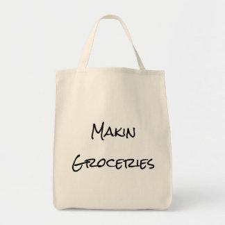 Bolso de compras de ultramarinos de Makin