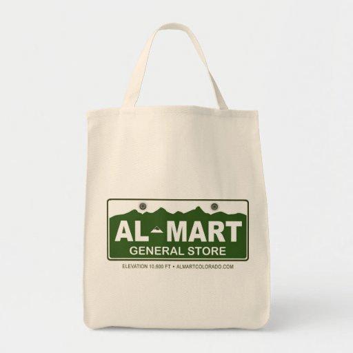 Bolso de compras del Al-Centro comercial Bolsa Tela Para La Compra