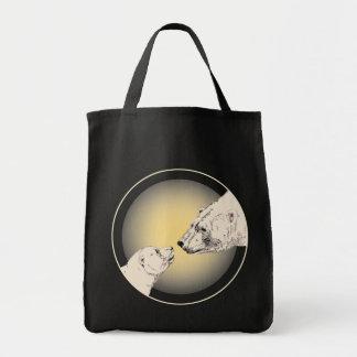 Bolso de compras del arte de la fauna de la bolsa