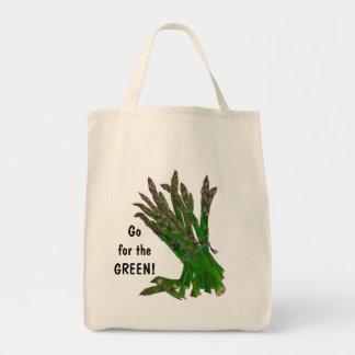 Bolso de compras del espárrago bolsa tela para la compra