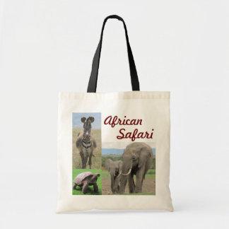 Bolso de compras del safari bolsa