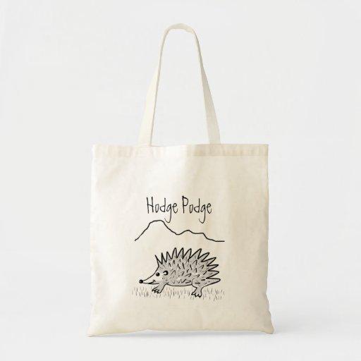 Bolso de compras del tote de Hodge Podge Bolsas De Mano