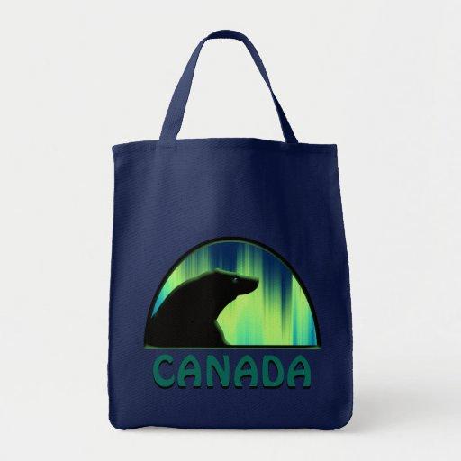 Bolso de compras elegante del arte de Canadá de la Bolsa Tela Para La Compra