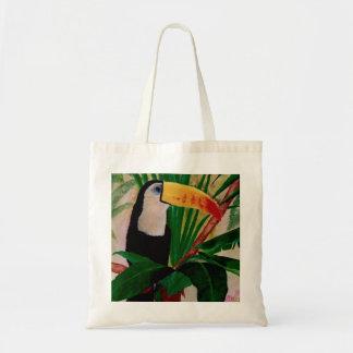Bolso de compras exótico del tote del arte del páj