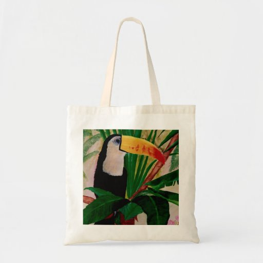 Bolso de compras exótico del tote del arte del páj bolsa