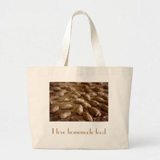 Bolso de compras hecho en casa bolsas