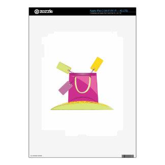Bolso de compras iPad 3 skins