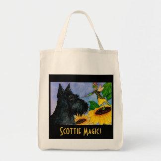 Bolso de compras mágico del escocés bolsa