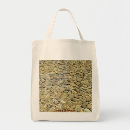 Bolso de compras reutilizable de las piedras bolsa tela para la compra