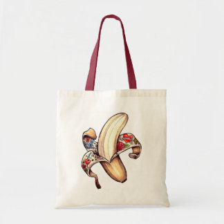 ¡Bolso de compras reutilizable del plátano de Hann Bolsa Tela Barata