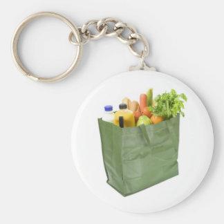 Bolso de compras reutilizable por completo de ultr llavero personalizado