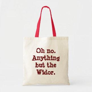 """Bolso de compras """"todo menos del Widor"""""""