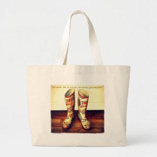 Bolso de compras/tote bolsa lienzo