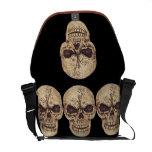 bolso de cráneos bolsa messenger