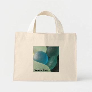 Bolso de cristal de la playa del mar bolsas
