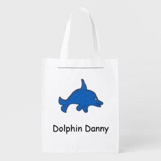 Bolso de Danny del delfín Bolsa De La Compra