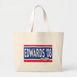 Bolso de Edwards 2008 Bolsa Tela Grande