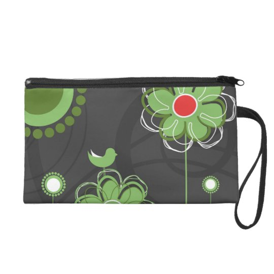 Bolso de embrague floral creativo
