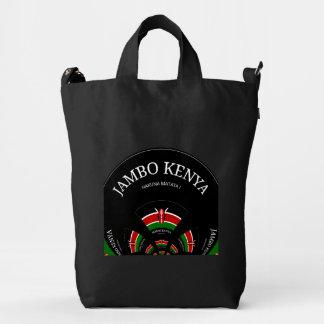 Bolso de encargo de la lona de Hakuna Matata Jambo Bolsa De Lona Duck