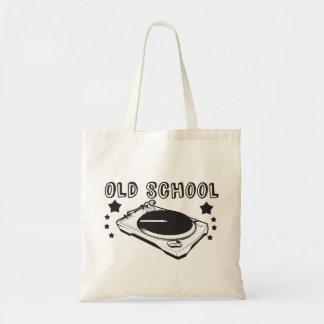 Bolso de escuela vieja bolsa tela barata