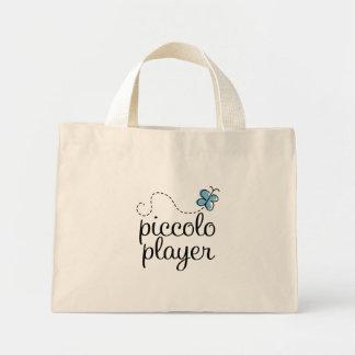 Bolso de flautín lindo de la música del jugador bolsa de tela pequeña