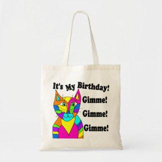 Bolso de Gimme del cumpleaños de It'sMy Bolsa Tela Barata