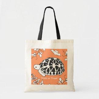 Bolso de Halloween de la tortuga y del palo de la  Bolsa Tela Barata