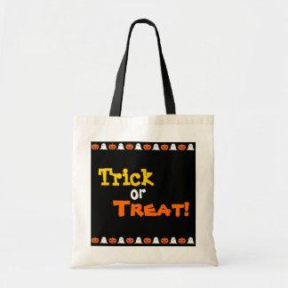 Bolso de Halloween de los niños del truco o de la Bolsa