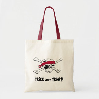 Bolso de Halloween del tesoro del pirata Bolsa Tela Barata