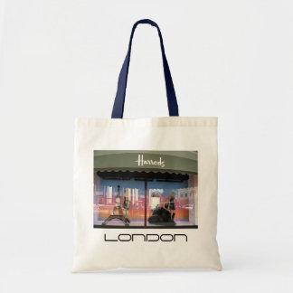 Bolso de Harrods Londres Reino Unido Bolsa Tela Barata