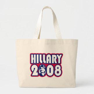 Bolso de Hillary 2008 Bolsa Tela Grande