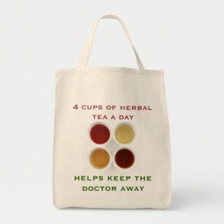 bolso de infusión de hierbas bolsa tela para la compra