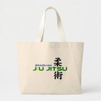 Bolso de Jiu Jitsu del brasilen@o con los caracter Bolsa Tela Grande