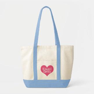 Bolso de Kawaii Bento del amor Bolsa De Mano