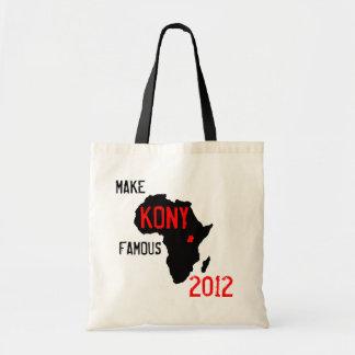 Bolso de Kony 2012 Bolsas
