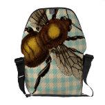 Bolso de la abeja bolsas de mensajería