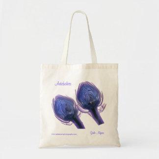 Bolso de la alcachofa bolsa tela barata