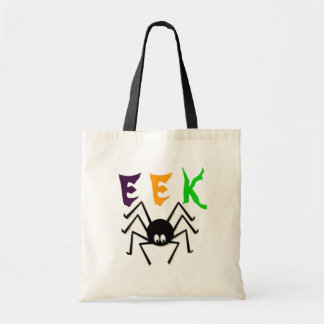 Bolso de la araña de la EEK Halloween Bolsa Tela Barata