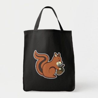 Bolso de la ardilla bolsa tela para la compra