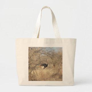Bolso de la avestruz, colección africana del safar bolsas de mano