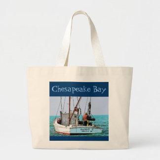 Bolso de la bahía de Chesapeake (ostra) Bolsa De Mano