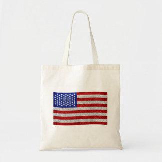 Bolso de la bandera americana del vintage bolsa