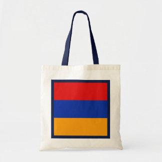 Bolso de la bandera de Armenia Bolsas