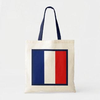 Bolso de la bandera de Francia Bolsas
