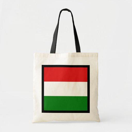 Bolso de la bandera de Hungría Bolsas De Mano