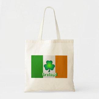 Bolso de la bandera de Irlanda Bolsa Tela Barata
