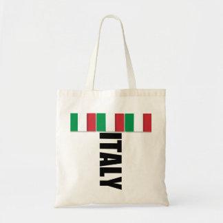 Bolso de la bandera de Italia Bolsa De Mano