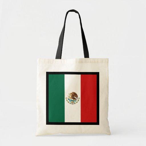 Bolso de la bandera de México Bolsa Tela Barata