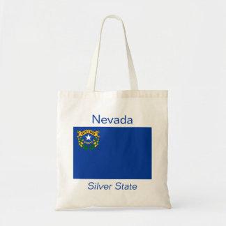 Bolso de la bandera de Nevadan Bolsa Tela Barata