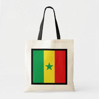 Bolso de la bandera de Senegal